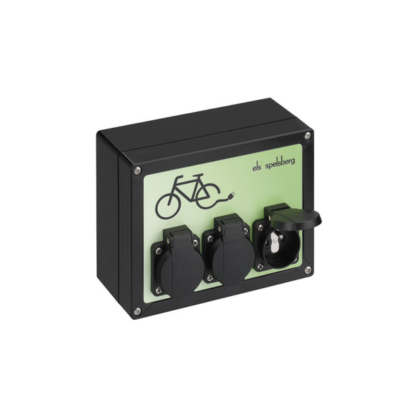 Charging station TG BCS 3 BE / FR Spelsberg for electric bike - carplug