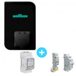 WALLBOX Mini Wallbox Copper charging station - 1.4 to 7.4kW - Bluetooth - Wifi