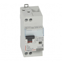LEGRAND-230V-20A-TypeF-30mA-Curve Differential Circuit Breaker C-Ref. 410754