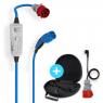 Pack-NRGkick 32A Borne de recharge mobile - Type2 - 2,3 à 22kW réglable - 5m - Bluetooth - réf. 20219-Adaptateur 220V - sac