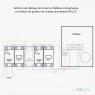 Pack Borne de recharge WALLBOX - 1,4 à 22kW - Bluetooth - Wifi - RFID + Module de gestion de charge + Protections électriques