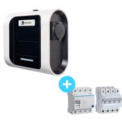 Pack Borne de Recharge Circontrol eNext T 2,3Kw à 22Kw + Protections électriques 22Kw