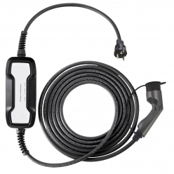 BESEN EV Mobile charger - Type2 - 10A - Cable 6m - Schuko - PSD019T2
