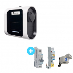 Pack Borne de Recharge Circontrol eNext S 2,3Kw à 7,4Kw + Protections électriques 7,4Kw + Beon