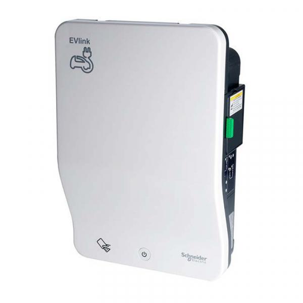 SCHNEIDER EVlink Smart Charging Station - T2S 22kW + TE 2.3kW - RFID - 3G - OCPP - EVB1A22P4ERI