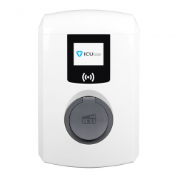 ALFEN Borne de recharge wallbox 904460036 Eve Mini - Type 2 - Obturateur - 22kW (3Ph-32A) - accès RFID