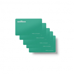 RFID cards - WALLBOX stations compatible only - pack of 5 cards