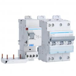 Pack Hager Protection Electrique pour borne de recharge triphasé