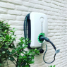 EVBOX Borne de recharge Wallbox H1160-00262 HomeLine Autostart - Type 2 - 3,7kW (1Ph-16A) - Câble attaché 6m - gris clair