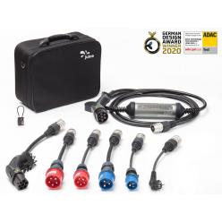 JUICE BOOSTER 2 - Pack XL - Borne mobile de recharge - 2,3 à 22kW - Type 2 - câble 5,2 m