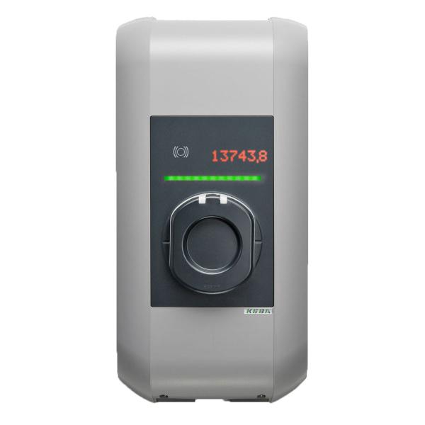 KEBA Borne de recharge Wallbox 105651 KeContact P30 - x-series - Type2S - Obturateur - 22kW 32A - UMTS, 3G, RFID - KC-P30-ESS400