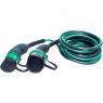 EVBOX Câble de recharge véhicule électrique - type 2 - type 2 - 3,7kW (1Ph-16A) - 4m - Evbox-C1164-T2T2