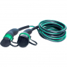EVBOX Electric Vehicle Charging Cable - Type 2 - Type 2 - 3.7kW (1Ph-16A) - 8m - Evbox-C1168-T2T2