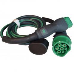 EVBOX Câble de recharge véhicule électrique - type 2 - type 2 - 11kW (3Ph-16A) - 4m - Evbox-C3164-T2T2