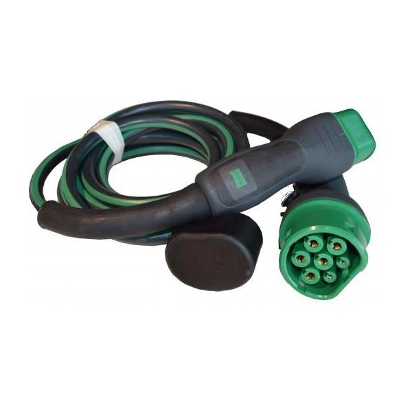EVBOX Câble de recharge véhicule électrique - type 2 - type 2 - 22kW (3Ph-32A) - 4m - Evbox-C3324-T2T2
