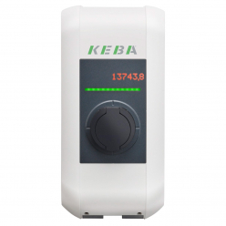 KEBA Wallbox 98.136 charging station KeContact P30 - b-series - Type2S - Shutter - 3.7 to 22kW
