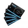 Cartes RFID - pack de 5 cartes