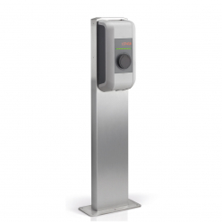 Pedestal for a single KEBA charging station