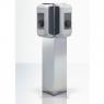 Pedestal triangle charging stations KEBA