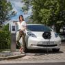Pedestal for a single KEBA charging station