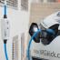 Borne de recharge mobile - Type2 - 2,3 à 11kW 16A réglable - câble attaché 5m - NRGkick 16A light 20216