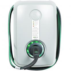 EVBOX Borne de recharge Wallbox H1160-00262 HomeLine Autostart - Type 2 - 3,7kW (1Ph-16A) - Câble attaché 6m - gris clair