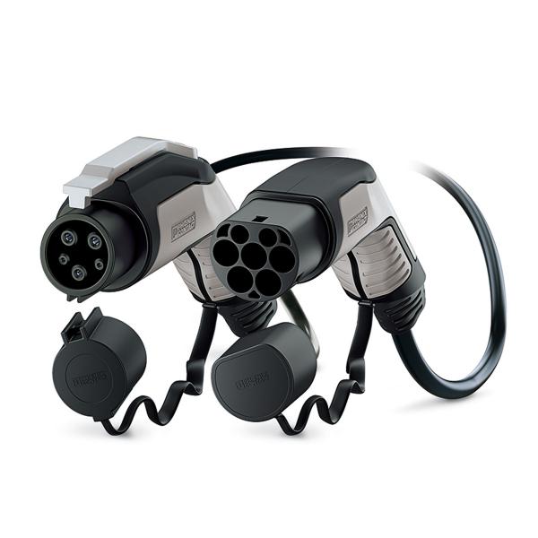 PHOENIX CONTACT - Câble de recharge - type 2 - type 1 - 7.4kW - 5m
