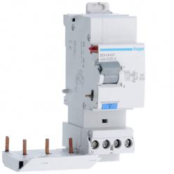 HAGER BDH440F - Interrupteur différentiel Type A Hi - 3P+N - 40A - 30mA