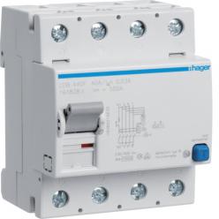 HAGER CDB440F - Interrupteur différentiel Type B - 4P - 40A - 30mA
