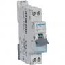 HAGER MJT716 - Circuit Breaker - 1P + N - 16A - Curve C - 6kA