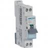 HAGER MJT725 - Circuit breaker - 1P + N - 25A - Curve C