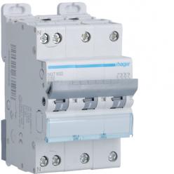 HAGER NGT832 - Circuit breaker 32A - 3P + N - D curve - PdC 10kA