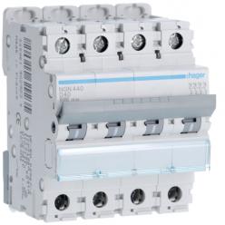 HAGER NGN440 - Disjoncteur - 4P - 40A - Courbe D - PdC 10kA