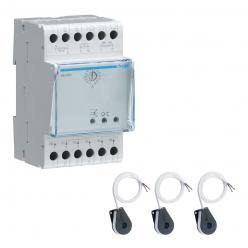 HAGER Module de gestion de charge dynamique - triphasé - pour borne HAGER - XEV305