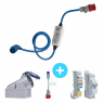 NRGkick 32A Type 2 + 32A + 32A + 32A Single Phase Electrical Protection Pack