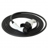 Charging cable - T2T2 - 7m - 22kW (3 phases 32A) - electric car