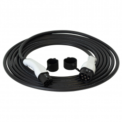 Charging cable - T2T2 - 10m - 22kW (3 phases 32A) - electric car