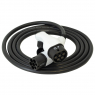 Charging cable - T2T2 - 4m - 22kW (3 phases 32A) - electric car