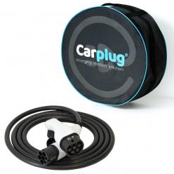 Câble de recharge - T2T2 - 4m - 22kW (3 phases 32A) - voiture électrique