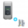 KEBA-e 2.3 to 4.6kW charging station Pack + Electrical Circuit Breaker and Differential switch 4.6kW