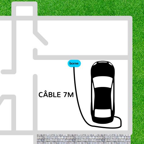 Diagram Charging cable 7m